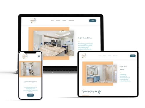 Coastal Peach Interiors Website