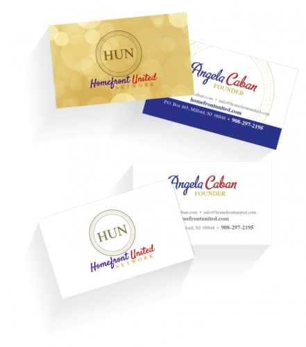 Homefront United Network Business Cards