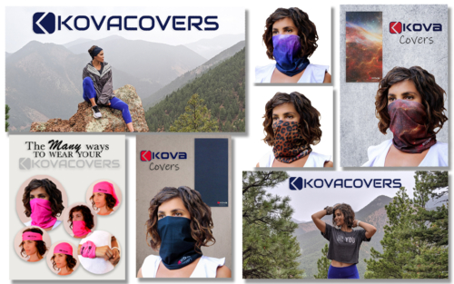 Model KovaCovers Ads