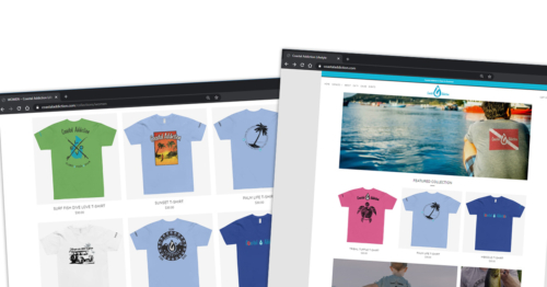 Coastal Addiction Website