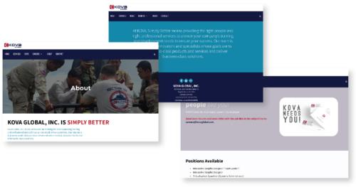 KOVA Global Website