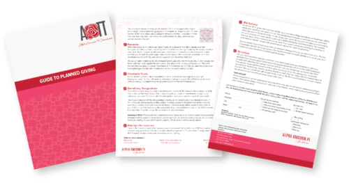 AOII Foundation Marketing Collateral